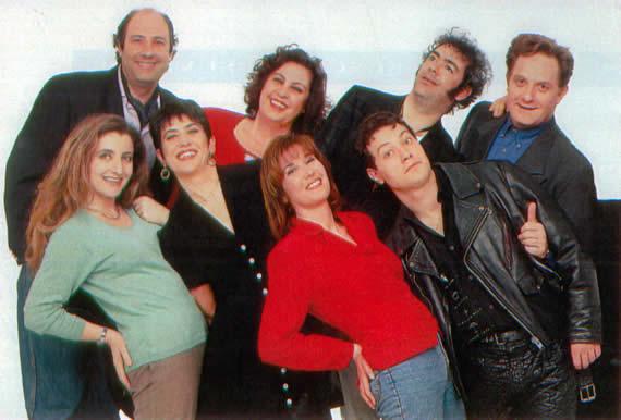 Il cast di Avanzi