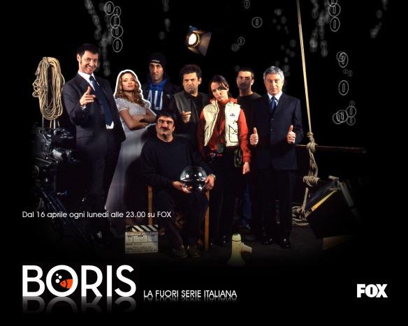 Il cast della prima stagione di Boris