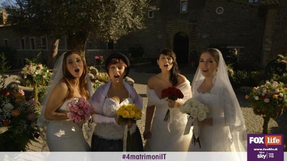 Paola, Desire, Marinella e Antonella