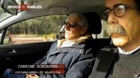 Sandro Ruotolo e Carmine Schiavone