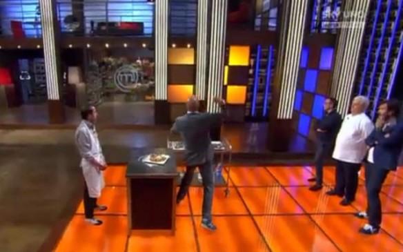 """Joe """"Di Maggio """"Bastianich lancia il pogettile litale di Michele"""