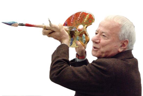 Il critico dell'arte Achille Bonito Oliva