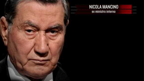 L'ex senatore Mancino
