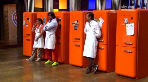 I concorrenti scelgono il loro frigo