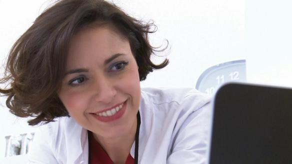 La dentista Maria Grazia Gualano