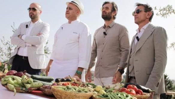 I giudici con lo chef marocchino Moha