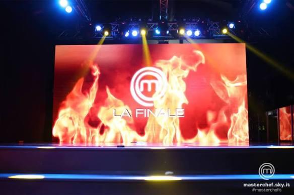 Il palco della proclamazione