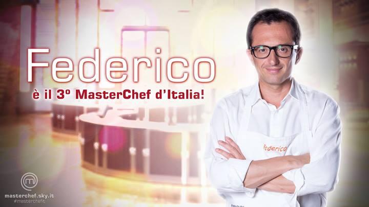 Masterchef: la vittoria di Federico, la diretta ridicola e  un Bastianich scatenato (1/6)