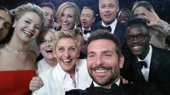 L'immagine più tweettata di sempre, il selfie della Notte degli Oscar