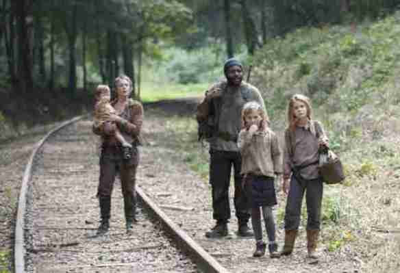 Carol, Tyreese, Lizzie, Mica e Judith