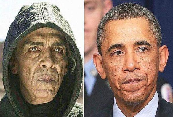 Mohamen Mehdi Ouazanni e Barack Obama