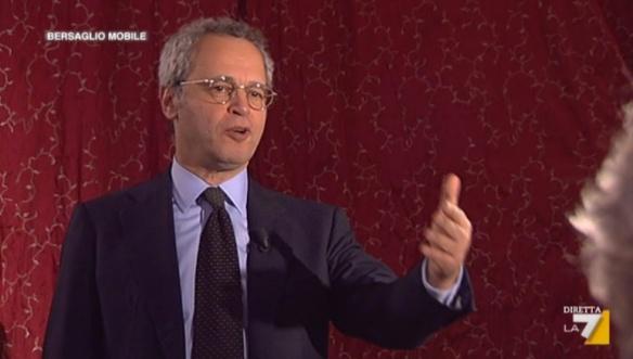 Enrico Mentana intervista Grillo