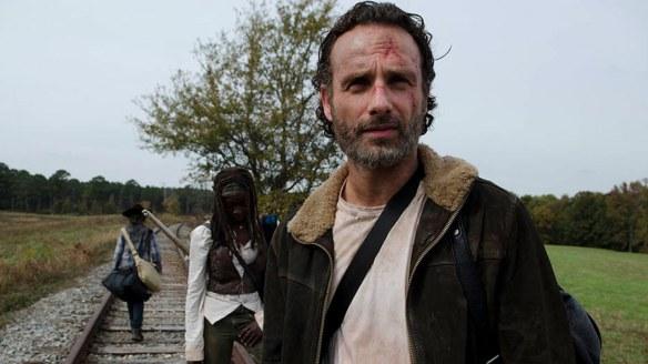 Rick Carl e Michonne