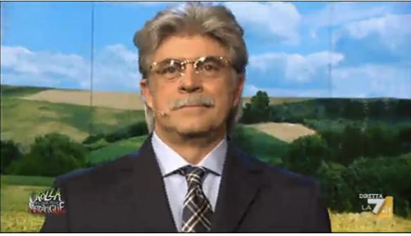 Antonio Razzi visto da Crozza