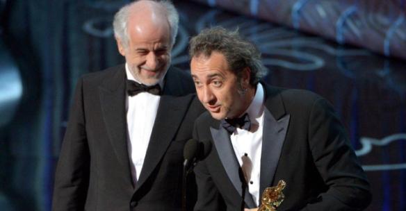 Toni Servillo e Paolo Sorrentino