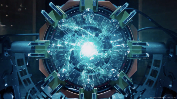 Il Tesseract, dal film Capitan America
