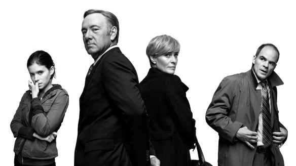 I protagonisti di House of Cards