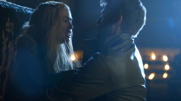Jaime violenta  la sorella Cersei