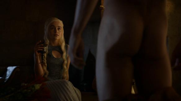 Daenerys si gode la vista di Daario