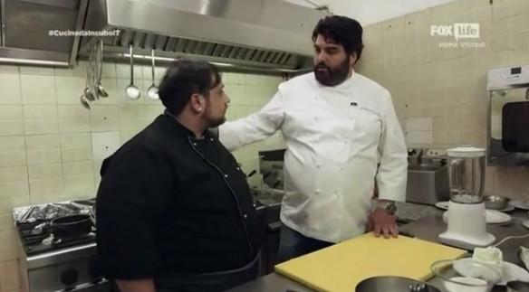 Cannavacciuolo insegna a Michele il nuovo menu