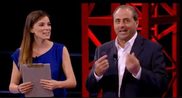 Giulia Innocenzi e Antonio Di Pietro