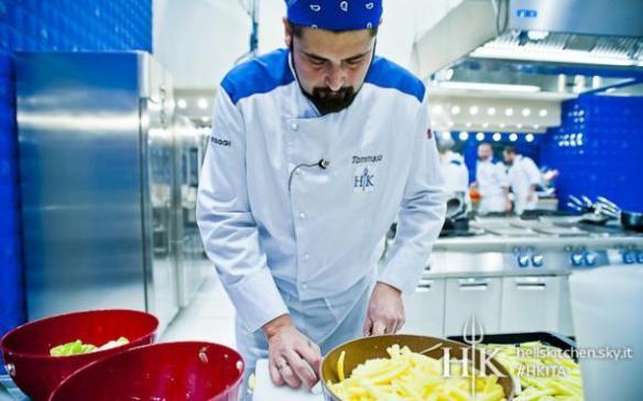Tommaso, lo chef che non sa friggere le patatine