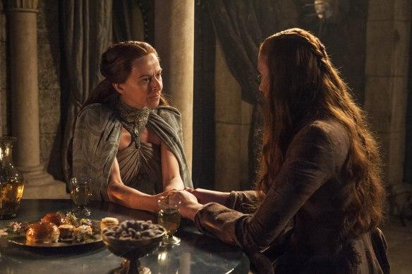 Lysa si sfoga con Sansa