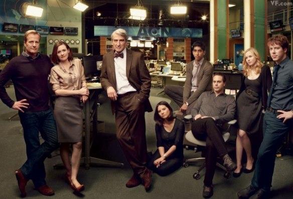 Il cast di The Newsroom
