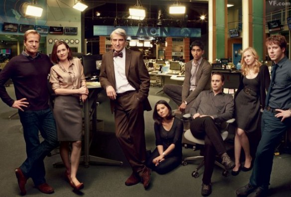 Il cast di The Newsroom