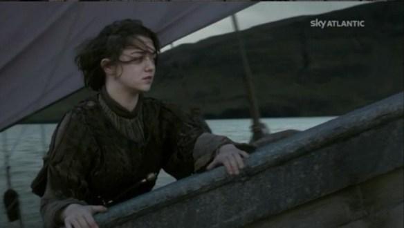Arya viaggia verso il suo destino