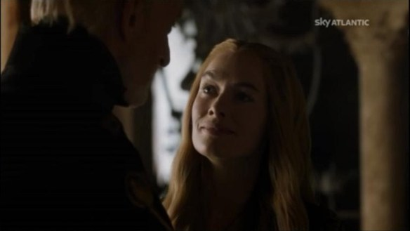 Cersei confessa l'incesto con aria soddisfattissima