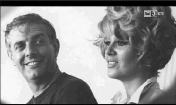Dario Fo e Franca Rame in una foto d'archivio