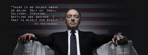Frank Underwood (Kevin Spacey)