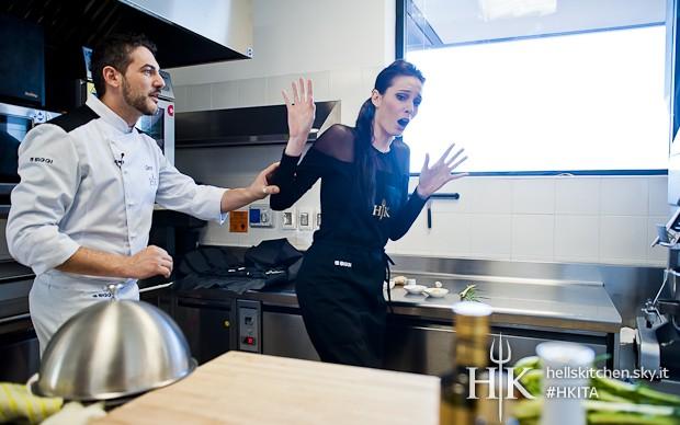 giacca nera hell's kitchen ifo