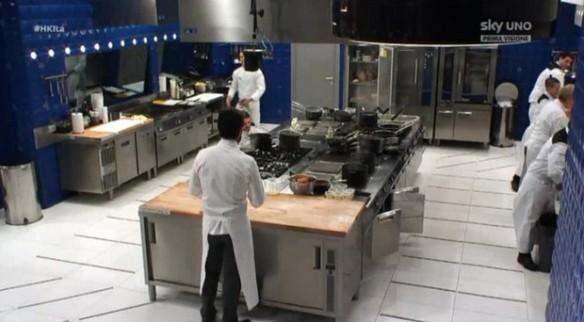 I concorrenti in cucina