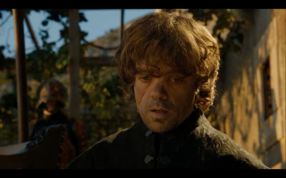 La reazine di Tyrion alla sentenza di morte