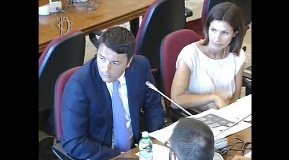 Matteo Renzi e Annalisa Moretti