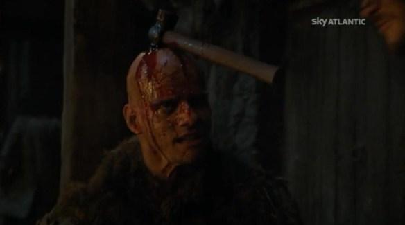 Jon uccide il capo dei Thenn