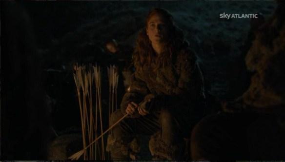 Ygritte fa pensieri lugubri sulle palle di Jon Snow