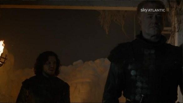 Il simpatico dialogo tra Alliser e Jon