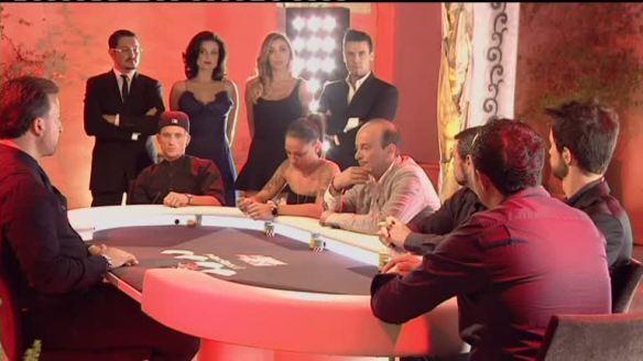 Il tavolo d La Casa degli Assi