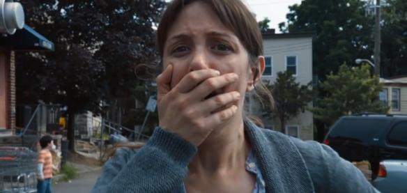 La reazione alla scomparsa del figlio a inizio episodio