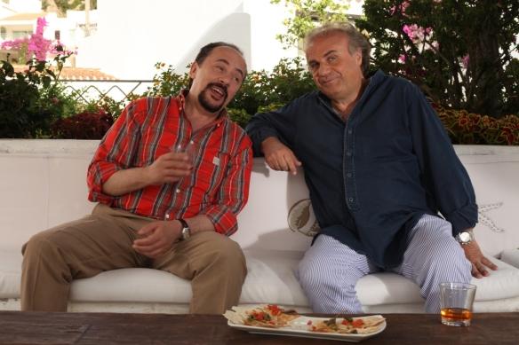 Maurizio Casagrande e Jerry Calà