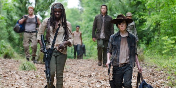 Abraham, Michonne Eugene e Carl