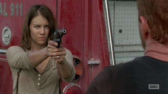 Maggie minaccia Abraham