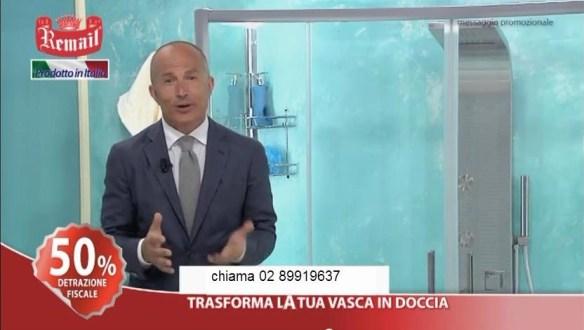 Giorgio Mastrota pubblicizza remail