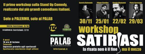 Il workshop di Satiriasi