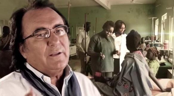 Al Bano mentre desidera di essere un medico