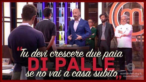 Bastianich spiega a Paolo come va il mondo