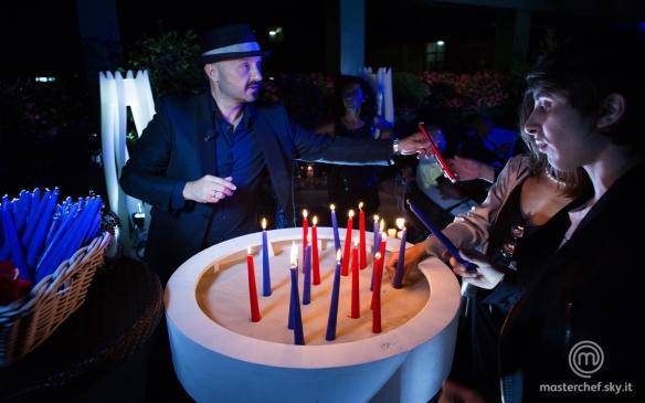 Il macabro ritualdlle candele